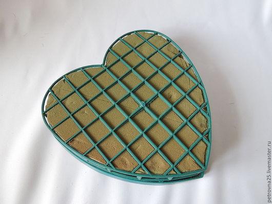 Другие виды рукоделия ручной работы. Ярмарка Мастеров - ручная работа. Купить Оазис в виде сердца. Handmade. Морская волна