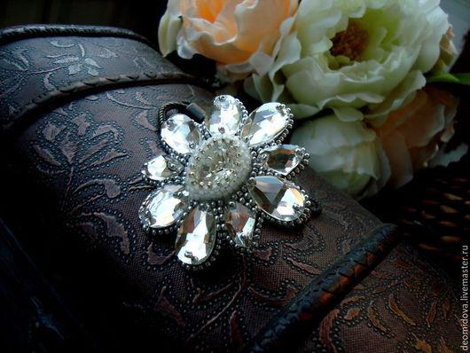 """Кольца ручной работы. Ярмарка Мастеров - ручная работа. Купить """"Кристалл"""" крупное кольцо. Handmade. Серебряный, красивое кольцо"""