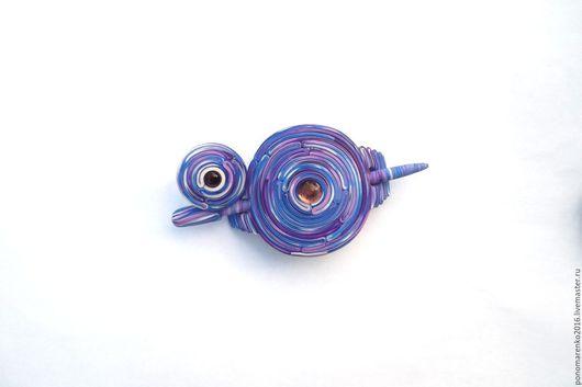 Заколки ручной работы. Ярмарка Мастеров - ручная работа. Купить Заколка+кольцо Черничный мусс (фибула, заколка для шали, сиреневый). Handmade.