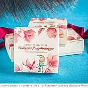Сувениры и подарки ручной работы. Ярмарка Мастеров - ручная работа Коробочки крышка-дно с цветной печатью - фирменная упаковка. Handmade.
