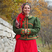 Русский стиль handmade. Livemaster - original item Dushegreya Lyubavushka. Handmade.