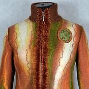 """Одежда ручной работы. Ярмарка Мастеров - ручная работа куртка валяная """"Любимые цвета"""". Handmade."""