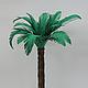 Дерево для макета или кукольного сада - пальма