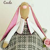 Куклы и игрушки ручной работы. Ярмарка Мастеров - ручная работа Зайка Сесиль. Handmade.