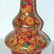 Русский стиль ручной работы. Ярмарка Мастеров - ручная работа кальян-хохлома. Handmade.