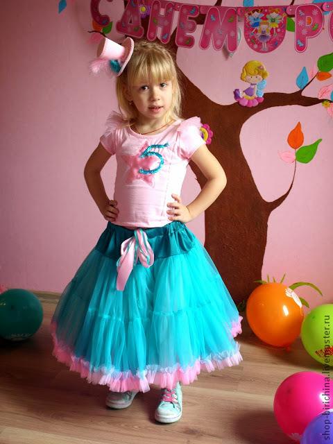 Одежда для девочек, ручной работы. Ярмарка Мастеров - ручная работа. Купить Пышная юбочка американка ... для мамы и дочки :). Handmade.