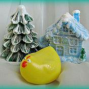Косметика ручной работы. Ярмарка Мастеров - ручная работа Мыльный набор Зимний домик. Handmade.
