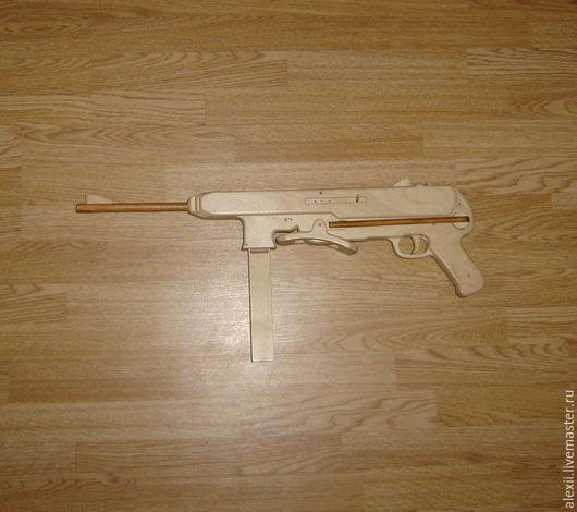 Оружие ручной работы. Ярмарка Мастеров - ручная работа. Купить Автомат резинкострел MP-40 (Шмайссер). Handmade. Комбинированный, шмайсер