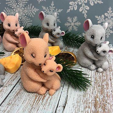 Косметика ручной работы. Ярмарка Мастеров - ручная работа Милые мышки. Handmade.
