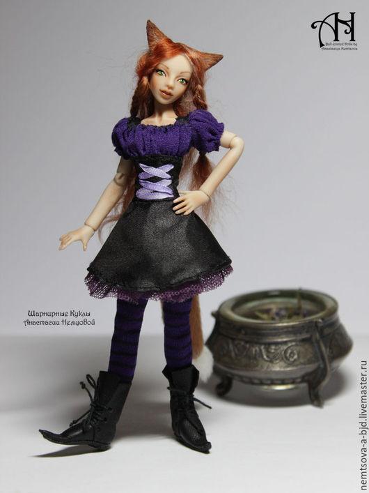 Кукольный дом ручной работы. Ярмарка Мастеров - ручная работа. Купить лисичка Лилу (12,5 см). Handmade. Комбинированный