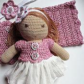Куклы и игрушки ручной работы. Ярмарка Мастеров - ручная работа Кукла в подарок для девочки 2-4 лет. Handmade.