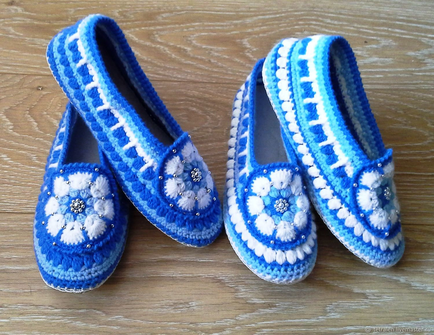 d42f14843c0b40 Handmade Shoes handmade. Slippers crochet Snezhana. Knitted stuff from  Svetlana. My Livemaster.