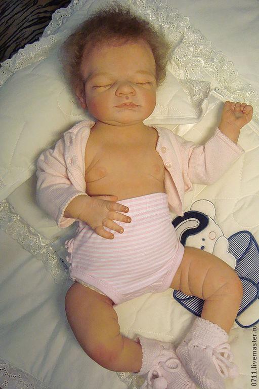 Куклы-младенцы и reborn ручной работы. Ярмарка Мастеров - ручная работа. Купить Gus by Tina Kewy. Handmade. Бежевый