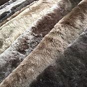 Материалы для творчества ручной работы. Ярмарка Мастеров - ручная работа Мех натуральный (мутон) ворс 10-12мм. Handmade.