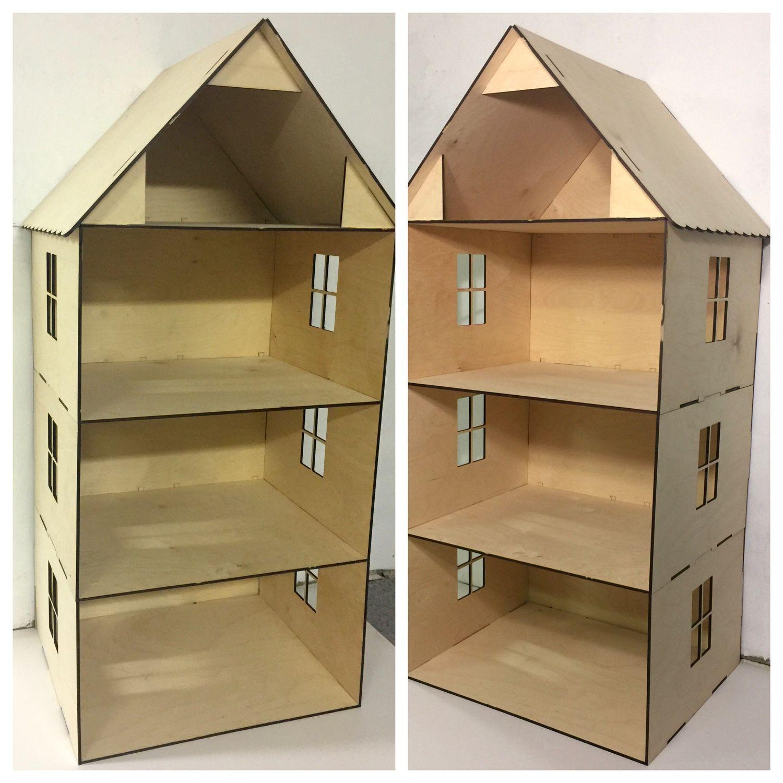 Кукольный домик своими руками из фанеры схема : с размерами чертеж для 10