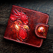 Сумки и аксессуары handmade. Livemaster - original item Wallet classic leather