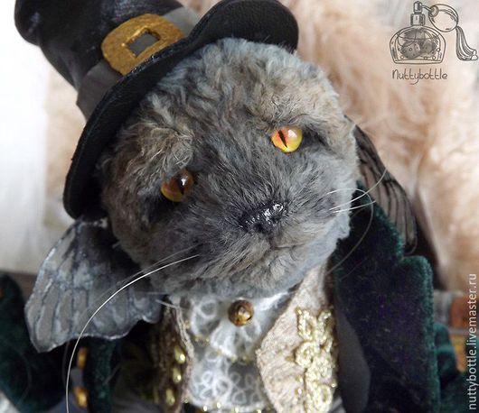 Мишки Тедди ручной работы. Ярмарка Мастеров - ручная работа. Купить Котик тедди Тиган. Handmade. Кот, коты и кошки