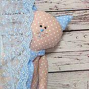 Куклы и игрушки ручной работы. Ярмарка Мастеров - ручная работа Набор игрушек  крем брюле-голубой. Handmade.