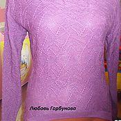 Одежда ручной работы. Ярмарка Мастеров - ручная работа фиолетовая геометрия. Handmade.