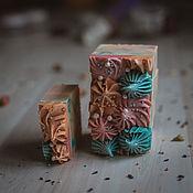Мыло ручной работы. Ярмарка Мастеров - ручная работа Мыло: Шелк и кашемир. Handmade.