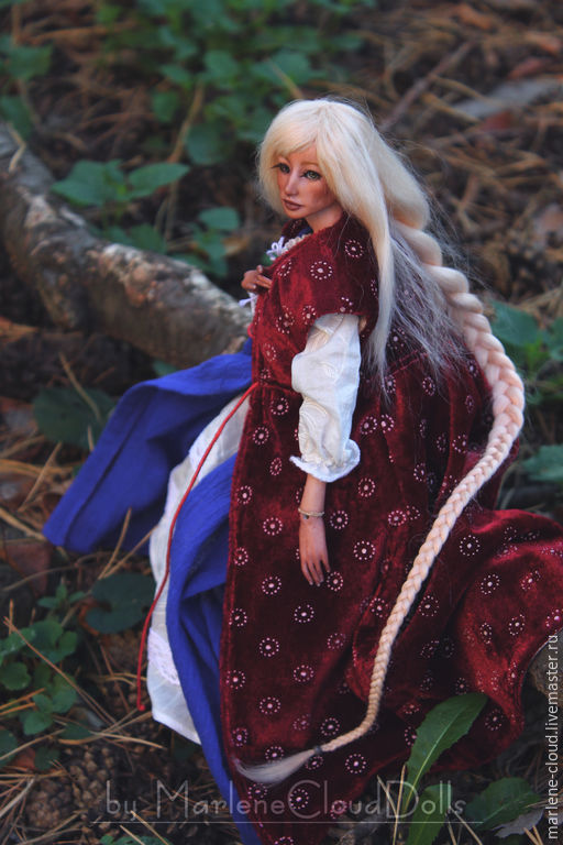 Коллекционные куклы ручной работы. Ярмарка Мастеров - ручная работа. Купить Рапунцель Rapunzel Шарнирная кукла BJD. Handmade. Rapunzel