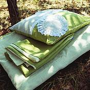 Для дома и интерьера ручной работы. Ярмарка Мастеров - ручная работа Детское постельное белье из льна ручной работы. Handmade.