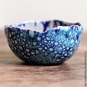 Посуда ручной работы. Ярмарка Мастеров - ручная работа миска про морские глубины. Handmade.