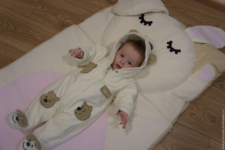 Спальный зимний мешок для новорожденных своими руками фото 962
