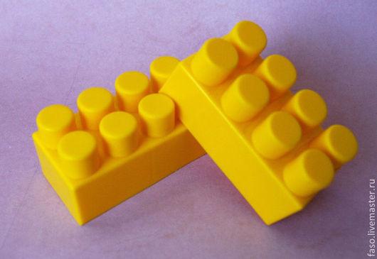 Другие виды рукоделия ручной работы. Ярмарка Мастеров - ручная работа. Купить Силиконовая форма Лего. Handmade. Розовый