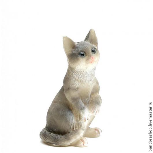 Куклы и игрушки ручной работы. Ярмарка Мастеров - ручная работа. Купить Кошечка полосатая, около 4 см. Миниатюры Heidi Ott 1:12.. Handmade.