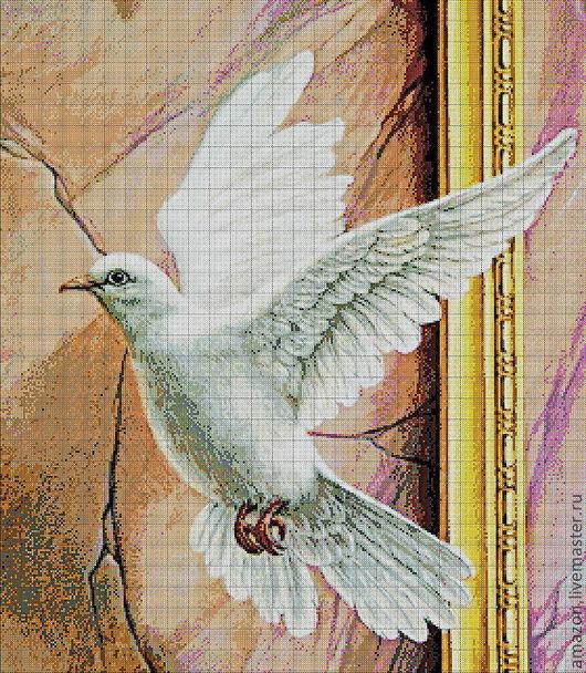 Голубя считали священной птицей и называли вестником богов.