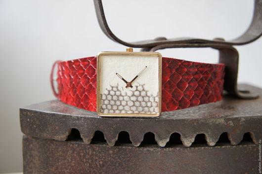 Часы ручной работы. Ярмарка Мастеров - ручная работа. Купить Часы. Handmade. Часы, часы на ремне, часовой ремешок