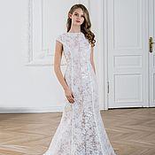Свадебный салон handmade. Livemaster - original item Wedding dress in mermaid style Camelia. Handmade.