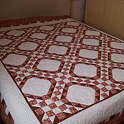 """Для дома и интерьера ручной работы. Ярмарка Мастеров - ручная работа одеяло """"Грильяж"""". Handmade."""