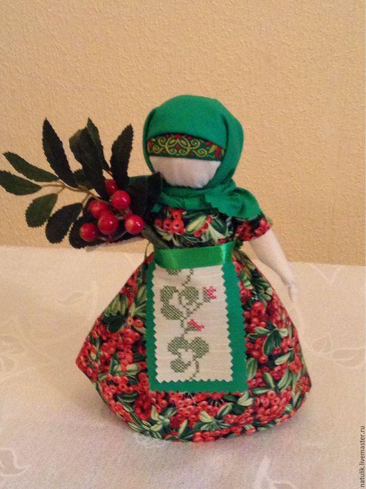 Кукла Рябинка Готовая работа