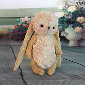 Куклы и игрушки ручной работы. Ярмарка Мастеров - ручная работа Зайка в технике тедди. Handmade.