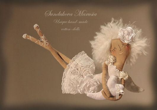 """Ароматизированные куклы ручной работы. Ярмарка Мастеров - ручная работа. Купить """"Ангел хранящий любовь"""" - авторская кофейная куколка. Handmade."""