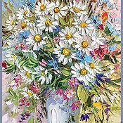 Картины и панно ручной работы. Ярмарка Мастеров - ручная работа Летние полевые цветы. Handmade.