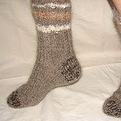 Аксессуары handmade. Livemaster - original item Warm socks art. # №44 out of dog hair .. Handmade.