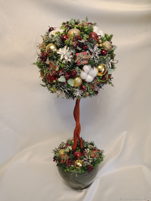 Топиарий. Новогоднее дерево.Елка новогодняя – купить в интернет ... affec633d29