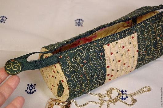 Женские сумки ручной работы. Ярмарка Мастеров - ручная работа. Купить Косметичка. Handmade. Комбинированный, косметичка в подарок, подарок подруге