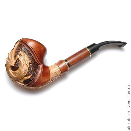 Подарки для мужчин, ручной работы. Ярмарка Мастеров - ручная работа. Купить Курительная трубка Estupedo-E11070-8. Handmade. Трубка