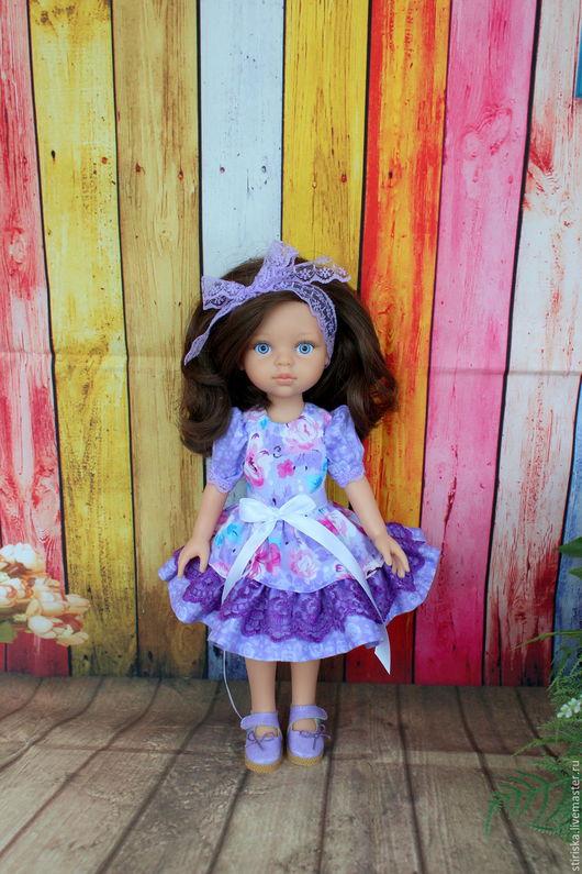 Одежда для кукол ручной работы. Ярмарка Мастеров - ручная работа. Купить Платье для кукол Paola Reina (Паола Рейна). Handmade.