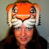 """Работы для детей, ручной работы. Ярмарка Мастеров - ручная работа шапка из поролона """"тигр"""". Handmade."""
