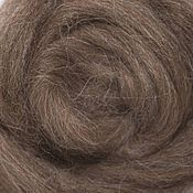 Материалы для творчества handmade. Livemaster - original item Alpaca. Color: dark brown. 50 gr.. Handmade.