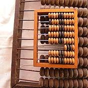 Картины и панно ручной работы. Ярмарка Мастеров - ручная работа Счеты деревянные.. Handmade.