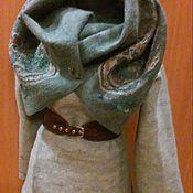 пальто-трансформер валяное, женское