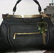 Классическая сумка ручной работы. Ярмарка Мастеров - ручная работа Производство сумок. Handmade.