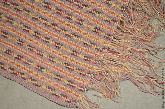 Текстиль, ковры ручной работы. Ярмарка Мастеров - ручная работа. Купить Плед вязаный. Handmade. Плед, вязаный плед