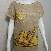 """Одежда ручной работы. Ярмарка Мастеров - ручная работа Туника """"Загадочный Египет"""". Handmade."""